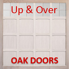 Woodrite Up & Over Oak Garage Doors