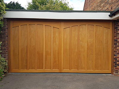 Woodrite Timber Up and Over Doors