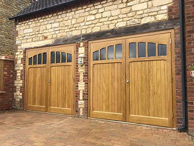 Woodrite Timber Side Hinged Doors