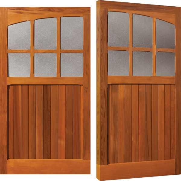 Woodrite garage doors timber up over side hinged for Garage doors uk