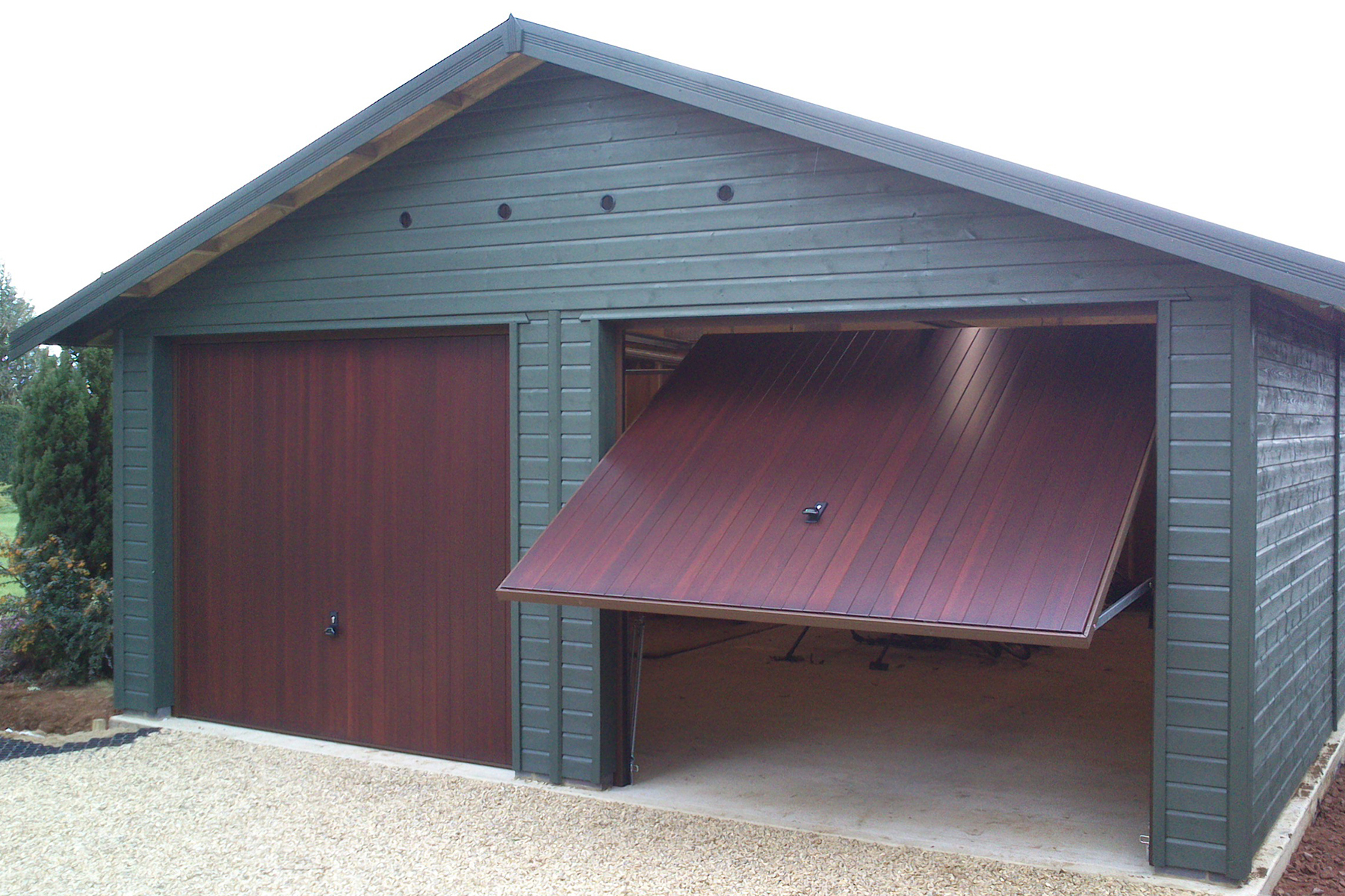 great built full with garage youtube in size walk probably idea door entry of fantastic through
