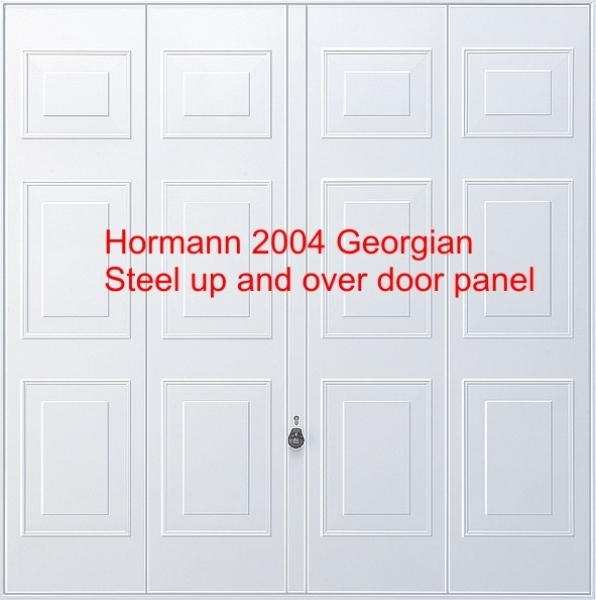 Hormann Georgian 2004 and Promatic Electric Operator WITH STEEL SUB FRAME