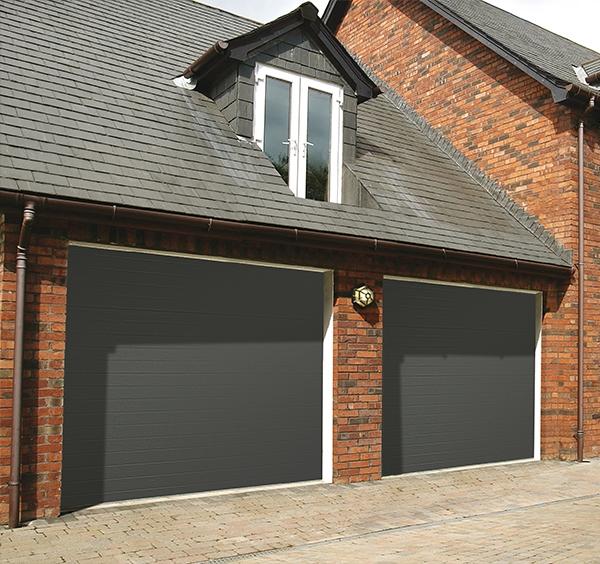 SWS, SWS Steel Top Rib Elite Sectional Garage Door