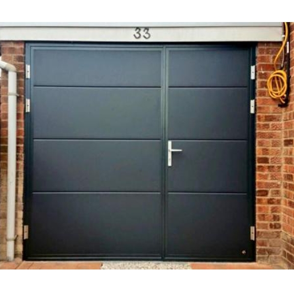 ryterna ryterna side hinged steel garage door side hinged insulated side hinged insulated. Black Bedroom Furniture Sets. Home Design Ideas
