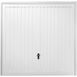 GDO Horton Vertical Rib in White and RAL Colour