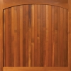 arched head timber design woodrite door