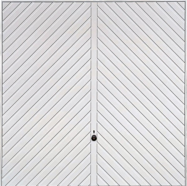 Hormann 2003 Chevron Double (White)