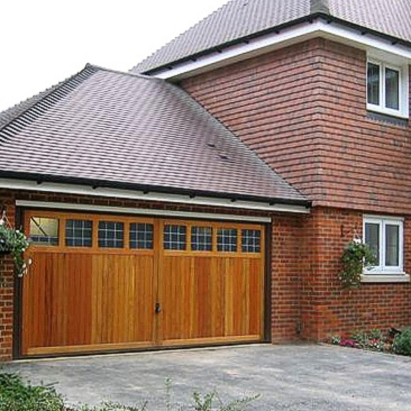 Hormann Timber-Cedarwood Retractable Up And Over Hormann