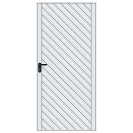 Hormann 2003 Chevron Pedestrian Door (White)