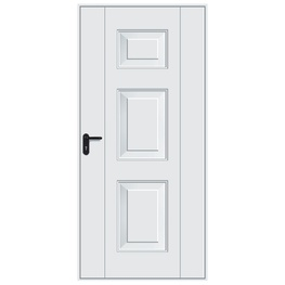 Hormann 2004 Georgian Pedestrian Door (White)
