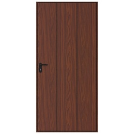 Hormann Vertical Decograin Pedestrian Door