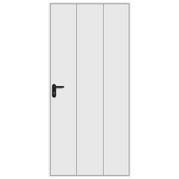 Hormann 2601 Elegance Pedestrian Door (White)