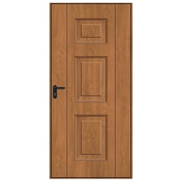 Hormann Georgian Decograin Pedestrian Door