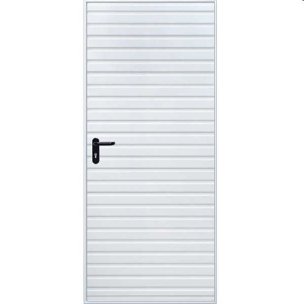 Hormann 2002 Horizontal Pedestrian Door (White)