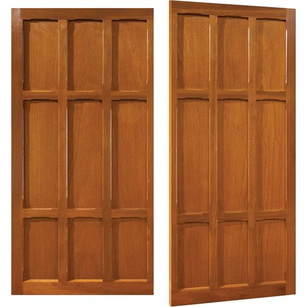 Cannington Timber-Cedarwood Side hinged  sc 1 st  Garage Doors Online & Cannington Woodrite Timber-Cedarwood Side hinged Side Hinged Garage ...