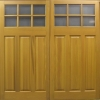 side hinged timber doors