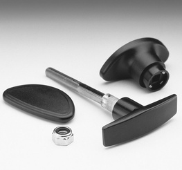 Garador Black Handle for Double Doors (1184)