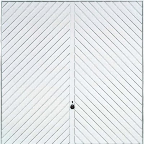 Hormann 2003 Chevron Single (White)