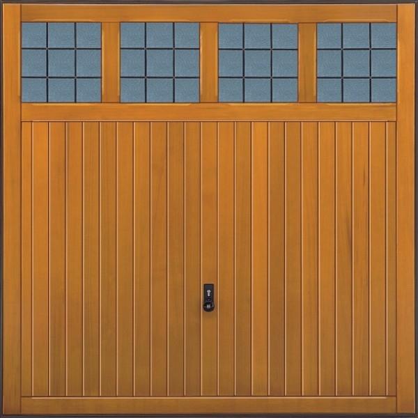 Hormann 2019 Garage Light Single Hormann Timber-Cedarwood
