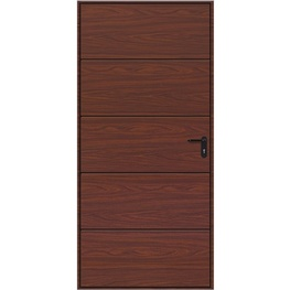 Hormann Horizontal Decograin Pedestrian Door