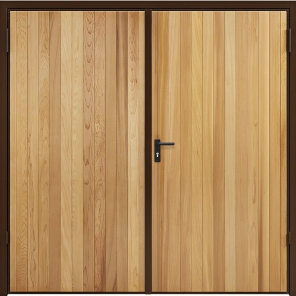 Garador Vertical Cedar Side Hinged