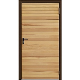 Garador Horizontal Cedar Personnel Door (Purpose Made)