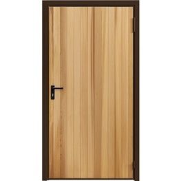 Garador Vertical Cedar Personnel Door (Purpose Made)