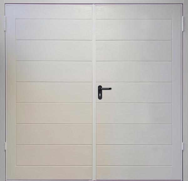 Lymington 50 50 platinum purpose made sizes wessex grp for Platinum garage doors