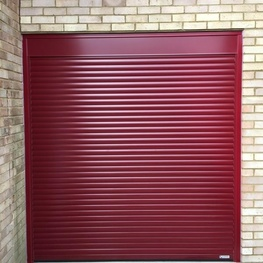 Gliderol Compact Roller Door with Full Hood and Paint Finish