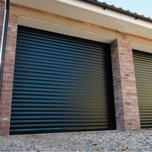 Gliderol Roller Door with Full Hood and Colour Paint Finish