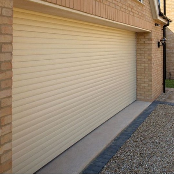 Gliderol Roller Door with Half Hood and Colour Paint Finish