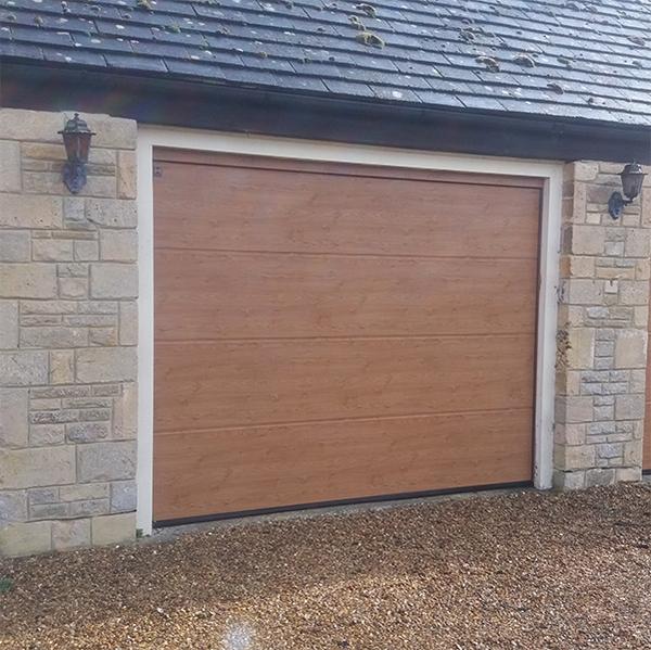 Hormann Sectional L Ribbed Garage Door In Anthracite Grey: Hormann Sectional Door Steel From Garage Doors Online Shop