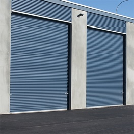 Gliderol Industrial Roller Door - Plastisol Finish