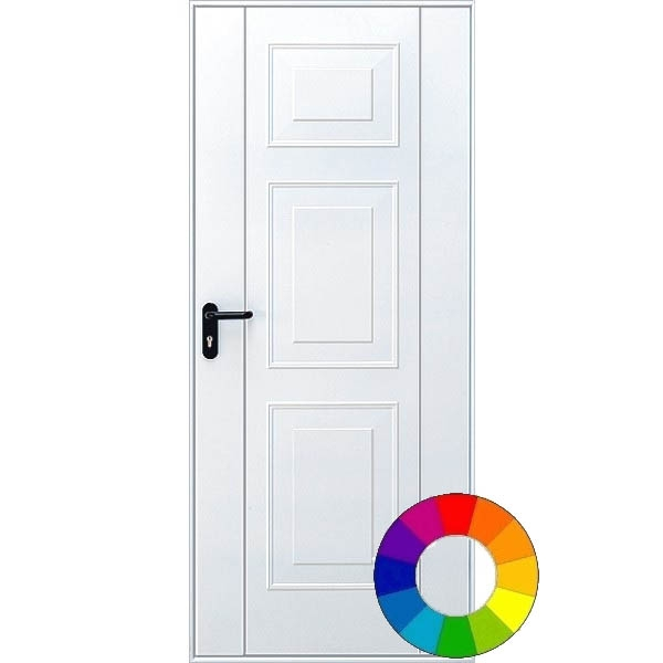 Hormann 2304 Georgian Pedestrian Door (RAL Colour)