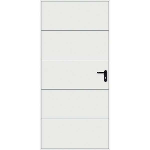 Hormann 2602 Finesse Pedestrian Door (White)