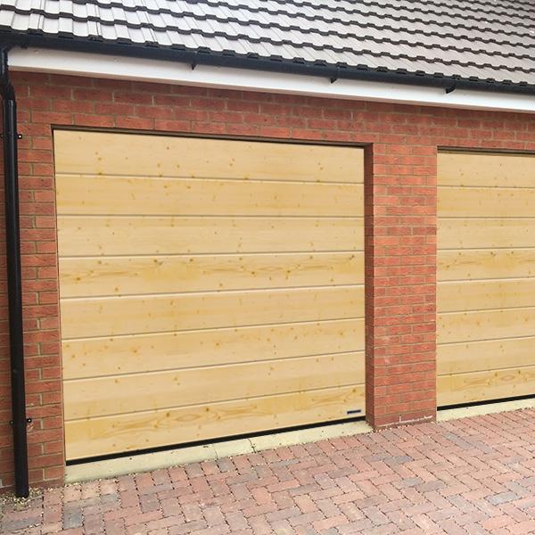 Hormann Sectional L Ribbed Garage Door In Anthracite Grey: Hormann Sectional Door Garage Doors Online Shop