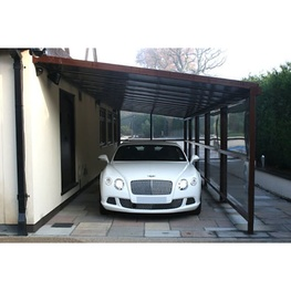 P35 Polycarbonate Car Port