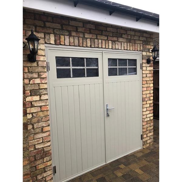 Ryterna Steel Side Hinged Ryterna Traditional Woodgrain Design Custom Colours At Garage Doors Online Shop Buy Online
