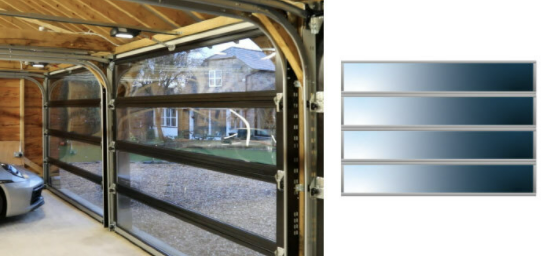 Full width glazing up to 3250mm wide (no mullions)