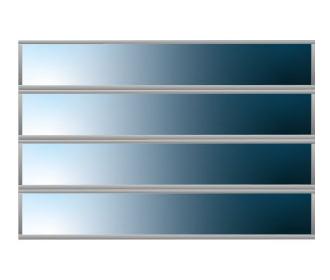 4 Glazing Panels