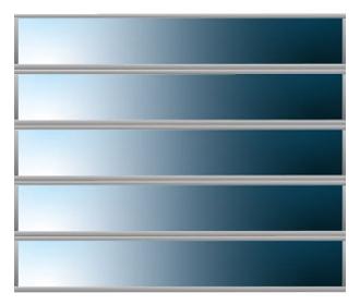 5 Glazing Panels