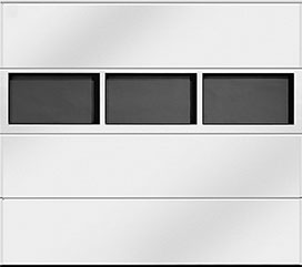 Horizontal Aluminium Light Strip Windows