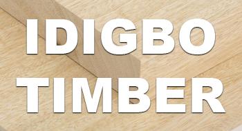 Idigbo timber