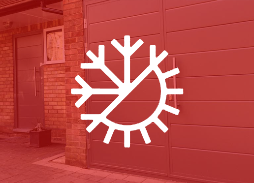 Insulated Side Hinged Garage doors
