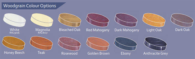GDO Woodgrain Door Colours