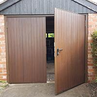 Garador Side Hinged Garage Doors