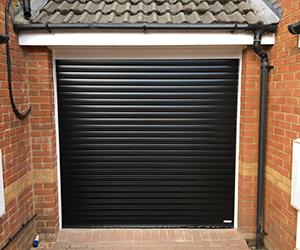 Gliderol aluminium insulated plastisol coated roller shutter garage door