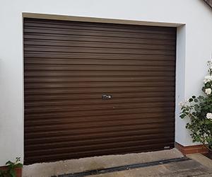 Gliderol Steel non-insulated single width roller shutter garage door