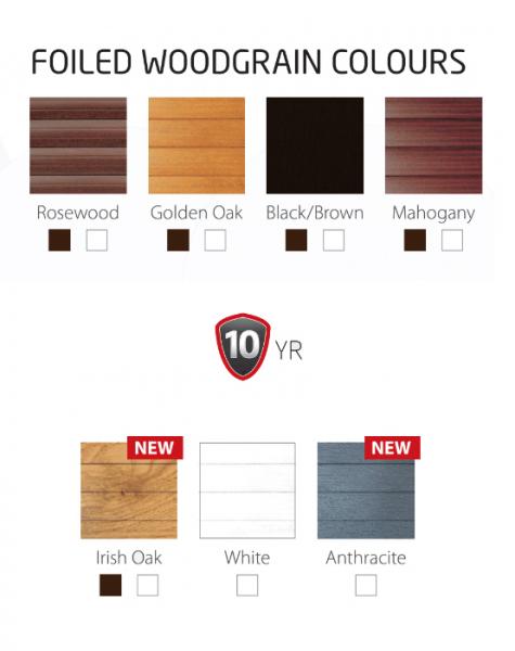 sws woodgrain colours